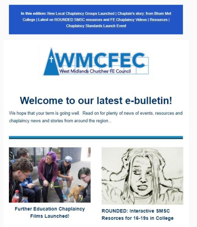 Check out our latest E-News Bulletin!
