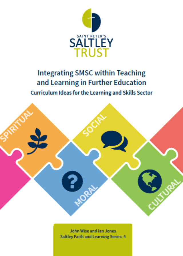 Integrating SMSC within Teaching and Learning in FE
