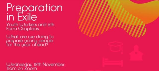 Preparation in Exile – supporting young people in college (event)