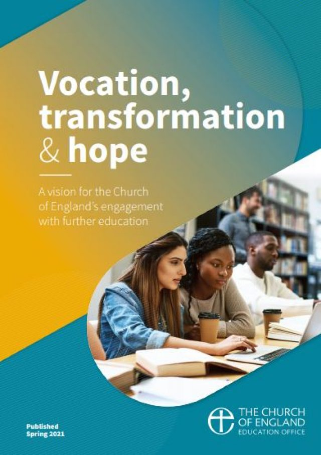 Faith in Further Education – launch of new C of E report